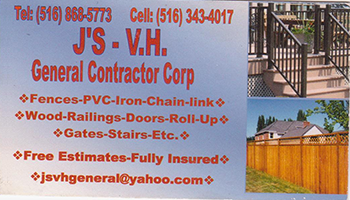 J's V.H. General Contracting Corp